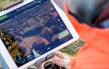 servizi di video ispezioni aeree