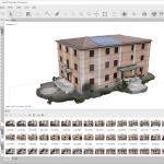 Elaborazione delle foto di un edificiocon Metashape